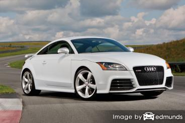 Insurance quote for Audi TT RS in Fresno