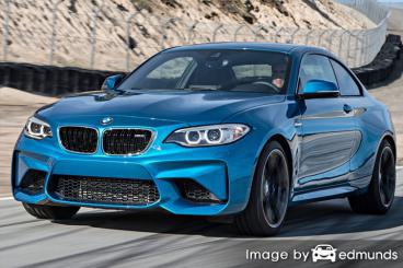 Insurance quote for BMW M2 in Fresno