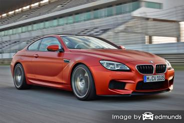 Insurance quote for BMW M6 in Fresno