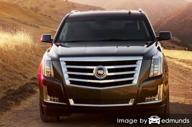 Insurance quote for Cadillac Escalade in Fresno