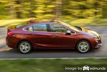 Insurance quote for Chevy Cruze in Fresno