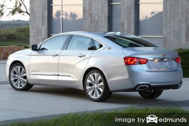 Insurance rates Chevy Impala in Fresno