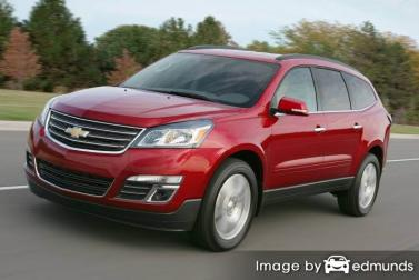 Insurance quote for Chevy Traverse in Fresno