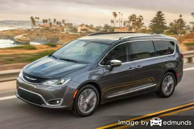 Insurance rates Chrysler Pacifica in Fresno