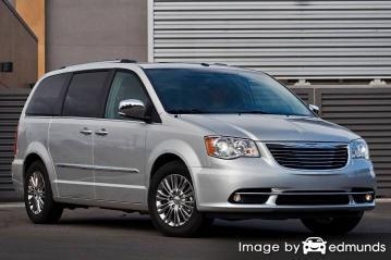 Insurance quote for Chrysler Town and Country in Fresno