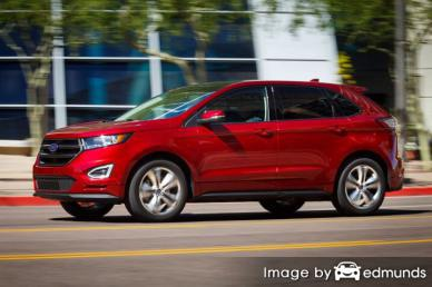 Insurance rates Ford Edge in Fresno
