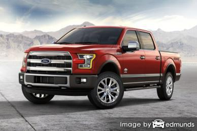 Insurance rates Ford F-150 in Fresno