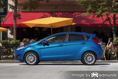 Insurance rates Ford Fiesta in Fresno