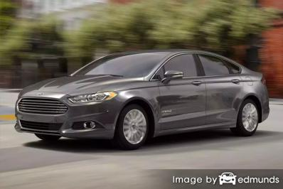 Ford Fusion Hybrid Insurance