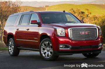 Insurance rates GMC Yukon in Fresno