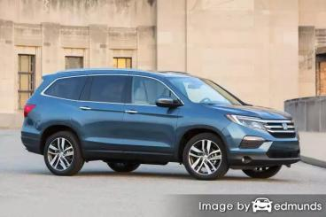 Insurance quote for Honda Pilot in Fresno