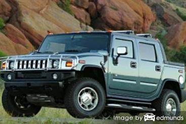 Insurance rates Hummer H2 SUT in Fresno