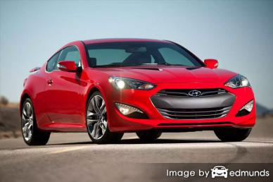 Insurance quote for Hyundai Genesis in Fresno
