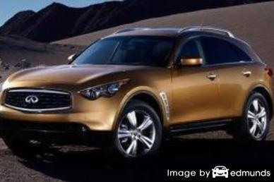 Insurance quote for Infiniti FX35 in Fresno