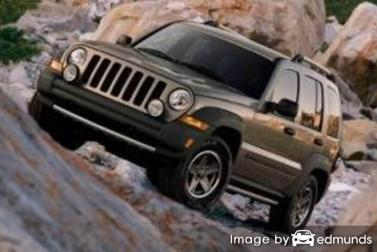 Insurance quote for Jeep Liberty in Fresno