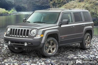 Insurance quote for Jeep Patriot in Fresno