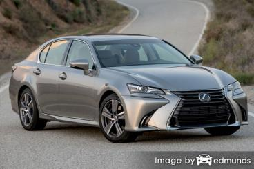 Insurance quote for Lexus GS 200t in Fresno