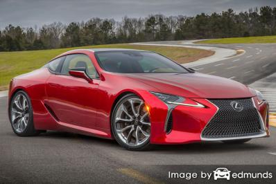 Insurance quote for Lexus LC 500 in Fresno