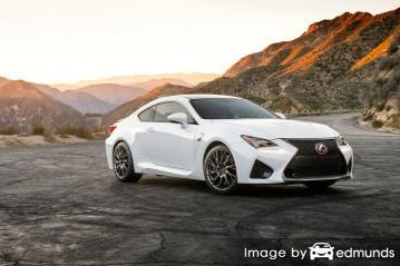 Insurance quote for Lexus RC F in Fresno