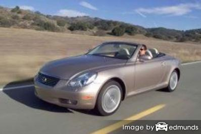 Insurance for Lexus SC 430