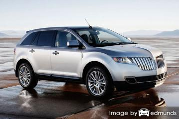 Insurance quote for Lincoln MKT in Fresno