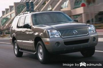 Discount Mercury Mountaineer insurance