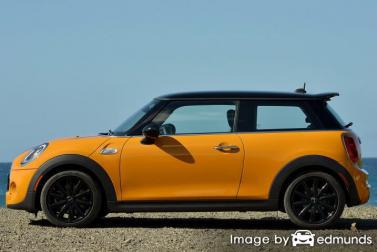 Insurance quote for Mini Cooper in Fresno