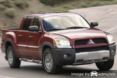 Insurance rates Mitsubishi Raider in Fresno
