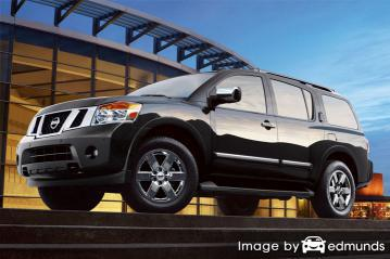 Insurance quote for Nissan Armada in Fresno