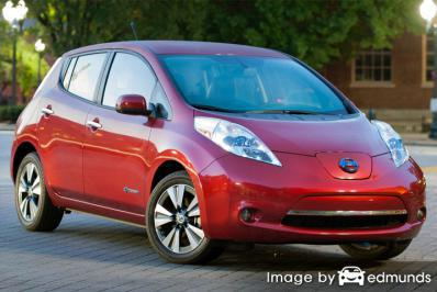Discount Nissan Leaf insurance