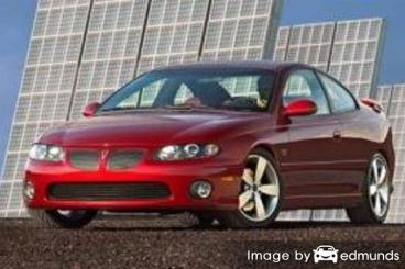 Insurance quote for Pontiac GTO in Fresno