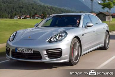 Insurance quote for Porsche Panamera in Fresno