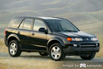 Insurance rates Saturn VUE in Fresno
