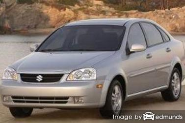 Insurance quote for Suzuki Forenza in Fresno