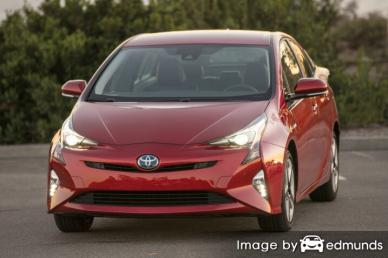 Insurance quote for Toyota Prius in Fresno