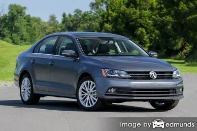Insurance rates Volkswagen Jetta in Fresno